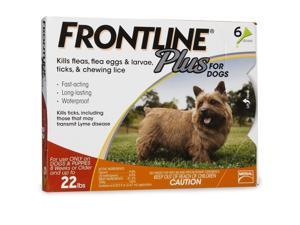 Frontline Plus for Small Dogs 0-22 lbs - 6 Month Supply