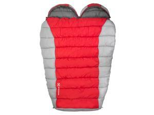 Winterial Double Mummy Sleeping Bag / Camping / Backpacking / Warm / 2 person