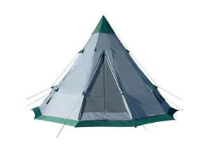 Winterial Teepee Tent / 10 Person / Easy Setup / Family Camping / Tent Camping