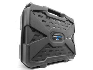 CASEMATIX Travel Hard Case with Dense Foam for Steam Machines by Alienware , Gigabyte BRIX Pro and ZOTAC NEN SN970 - For Steam Machine , Steam Link , Steam Controller , Power and More