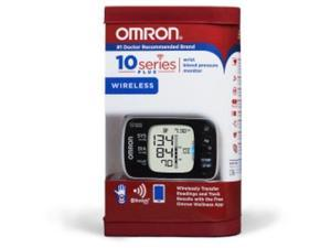 Omron 10 Series Plus Wrist Blood Pressure Monitor + Bluetooth Wireless BP653
