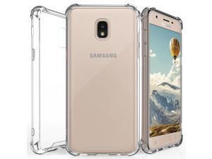 AquaFlex TPU Anti-Shock Clear Case Cover for Samsung Galaxy J3 (2018) J337