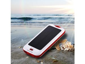 Poweradd Solar Panel Dual-USB Waterproof Power Bank for iphone USB External Portable Solar battery charger for phone
