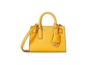 MICHAEL Michael Kors Dillon Tz Xs Crossbody Saffiano Leather 18K, Color Sunflower