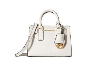 MICHAEL Michael Kors Dillon Tz Xs Crossbody Saffiano Leather 18K, Color Optic White