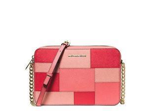 MICHAEL Michael Kors Jet Set Travel Large Ew Crossbody, Color Pink Grapefruit