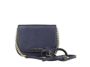 MICHAEL Michael Kors Bedford Small Crossbody Soft Venus 18K, Color Navy