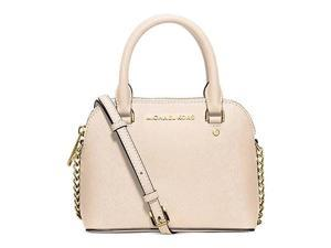 MICHAEL Michael Kors Cindy Xs Crossbody Saffiano Leather 18K, Color Ecru