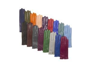 Fratelli Orsini Everyday Women's Italian Silk/Cashmere Lined Leather Gloves