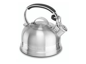 KitchenAid Stainless Steel 2.0-Quart Kettle with Full Stainless Steel Handle and Trim Band