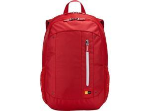 """Case Logic Jaunt Carrying Case (Backpack) for 15.6"""", Notebook - Red"""