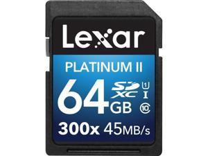 CRUCIAL LEXAR PLAT II SDXC 64GB 300X