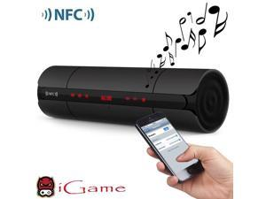 iGame Home Portable Bluetooth Speaker with NFC for Phone/Tablet/Laptop/PC - Black