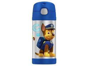 Thermos FUNtainer 12oz/355mL Stainless Steel Vacuum Insulated Straw Bottle (Paw Patrol) F4016PP