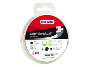 Oregon® Gator® SpeedLoad™ Cutting System Replacement Line / 24-500 • .095 • 3-pack