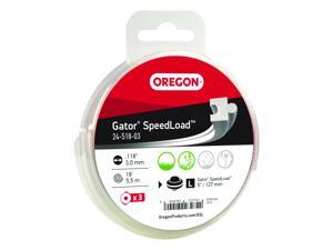Oregon® Gator® SpeedLoad™ Cutting System Replacement Line / 24-500 • .118 • 3-pack