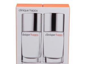 CLINIQUE HAPPY By Clinique Set Of 2 EDP For Women 1.0 oz  *SEALED*-CL4009