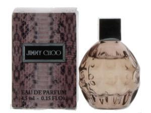 Jimmy Choo Eau De Parfum 0.15 oz / 4.5 ML Set of 2 Splash Travel Size New In Box
