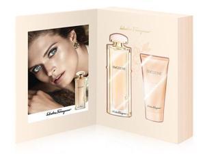Salvatore Ferragamo Emozione Diary Journal 2 pc Gift Set EDP& Body lotion 3.0 oz