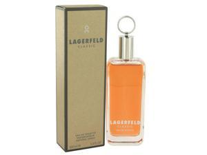 Lagerfeld Classic 3.4 oz / 100 ML Eau De Toilette For Men *Sealed*