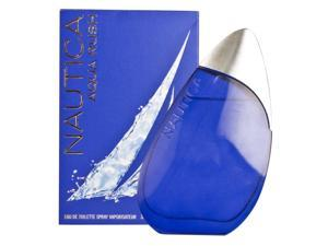 Nautica Aqua Rush 3.4 oz / 100 ML Eau De Toilette For Men*Sealed* NAU6994