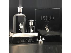 Polo Black Eau De Toilette Refillable 2 Pcs Gift Set For Men By Ralph Lauren