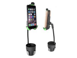 Car Cup Holder Mount, Beepels FashionRide Adjustable Neck Car Mount Cup Holder with 360? Rotatable, including for iPhone, iPod, Smartphones, iPhone 6, 6S Plus, Galaxy S7, S6 Edge