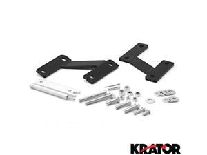 "Krator® 3"" Forward Control Motorcycle Foot Extensions Kit For Honda Shadow Spirit 1100 (VT1100C) 2004-2007"