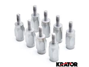 "Krator® 3"" Wheel Stud Spacer Bolts 8mm x 1.25 2xWheels For Suzuki LT50"