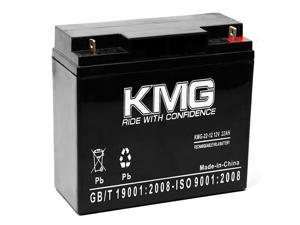 KMG® 12V 22Ah Replacement Battery for Exodus HLE22-12