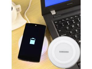 Universal Qi Standard Wireless Charger for Samsung S6 / Nexus 5 + More – White