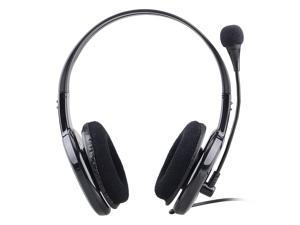 X14 Powerful Bass Stereo Sound PC Headphone for Gaming & Skype - Black