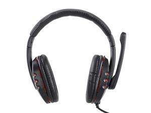 ZH-X6 Super Bass Over-Ear Headphone with Mic - Black
