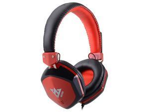 ME888 USB Headband Style Headset w/ Mic - Red