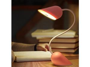 Creative Heart portable lamp Light LED Book Night Light Flexible Gooseneck Built-in Rechargeable Battery Accompanying Lights