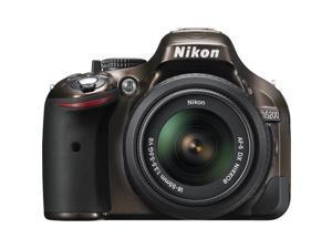 Nikon D5200 24.1 MP CMOS Digital SLR with 18-55mm f/3.5-5.6 AF-S DX VR NIKKOR Zoom Lens (Bronze)  International Version