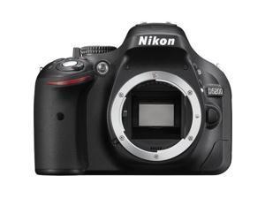 Nikon D5200 24.1 MP CMOS Digital SLR Camera Body Only (Black) International Version