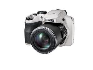 Fujifilm FinePix S9900W Digital Camera with 3.0-Inch LCD (White) (International Model)