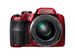 Fujifilm FinePix S9900W Digital Camera with 3.0-Inch LCD (Red) (International Model)