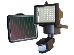 60 LED Solar Powered Motion Sensor Security Flood Light