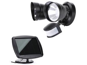 Solar Powered 36 LED Garage Sensor Security Flood Light