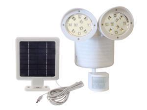 Solar Powered Motion Sensor Light 22 SMD-LEDs 150 Lumens - White