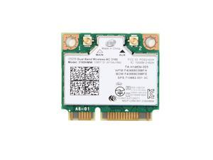 Wireless 3160 Dual Band Wireless AC + Bluetooth Mini PCIe card Supports 2.4 and 5.8Ghz B/G/N/AC Bands