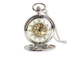 THZY Large Gold Face Pocket Watch NeckLace Women Men Quartz Pocket Watch