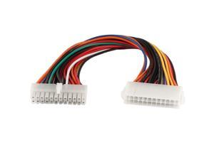 THZY ATX 24 Pin Male to 24 Pin Female Internal PC PSU Power Extension Cable