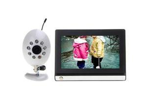 "THZY 7"" LCD Monitor Smart Baby Care Baby Monitoring System 2.4G Baby Monitor CCTV Camera Video Audio"