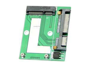 "THZY Mini NEW PCI-E Half Height mSATA SSD to 7mm 2.5"" SATA 22pin Hard Sisk Drive PCBA"