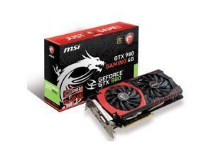Refurbished: MSI GAMING GeForce GTX 980 4GB DirectX 12 VR READY (GTX 980 GAMING 4G)