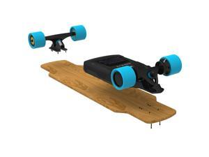 Motorized electric skateboard booster to turn your skateboard to be electric skateboard  easily packing with two motor wheels and two front wheels,individual personalize free services