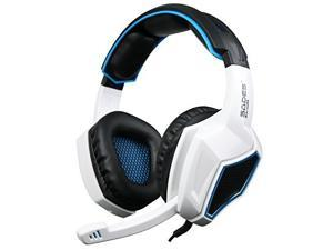 [2016 New Updated]Sades SA920 Wired Stereo Gaming Headset Over Ear Headphones with Microphone for Xbox One / Xbox 360 / PS4 / PC /Cell phones / iPad(Black White)